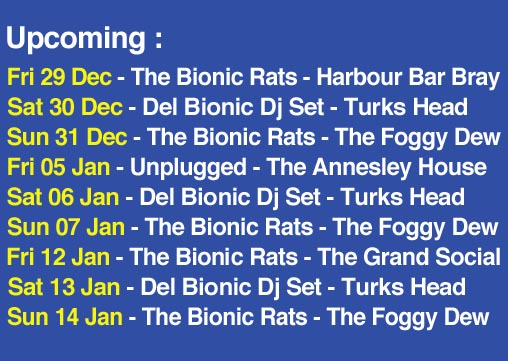 Upcoming Dec- Jan